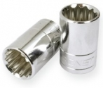 Signet S12102 3//8 Drive 7//16 Standard SAE Socket